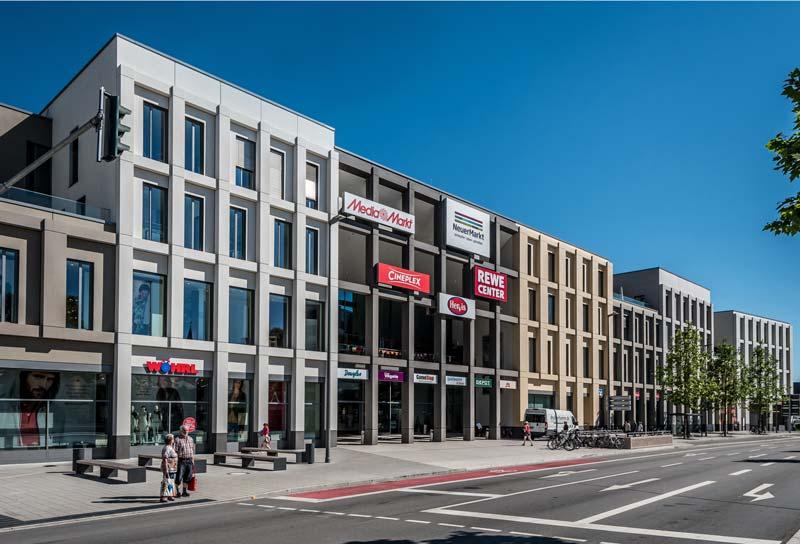 Stadtquartier neuermarkt neubau neumarkt distler architekten - Architekten neumarkt ...