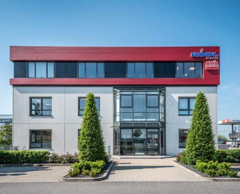 Verwaltungsgebäude Rödl GmbH Neumarkt Außenansicht